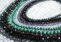 Fashion natural gemstone loose round beads for jewelry accessories