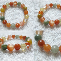 multi color quartz bracelet