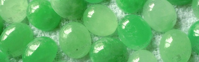 loose stone cabochon dyed green jade oval cabochon
