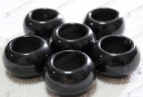 Semi precious stone rings,black onyx rings wholesale