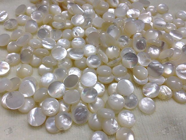 Wholesale stone beads,gemstone mother of pearl round cabochons