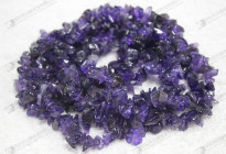 Very cheap natural gemstone,natural amethyst chip beads/紫晶碎石