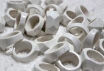 Wholesale synthetic gemstone rings,solid rings wholesale 人造松石戒指